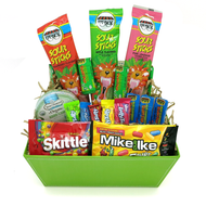A Sugar Rush! Candy Kosher Gift Basket Purim Shaloch Manos