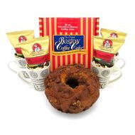 A Cinnamon Walnut Deluxe Cake Kosher Purim Gift