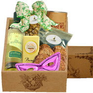 A Cute Purim White Wine Party Kosher Gift Box