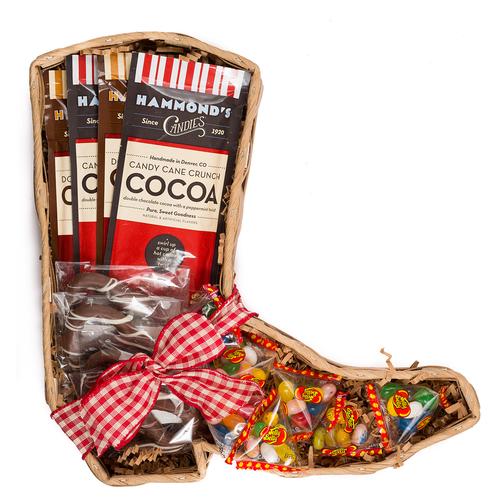 Epic Western Cowboy Boot Kosher Purim Gift Basket