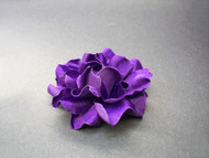 Bridal Hair Clip Flower Plum Gardenia Bridesmaids Wedding Accessory