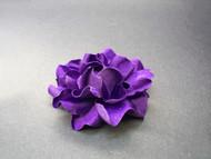 Bridal Hair Clip Flower Plum Gardenia Bridesmaids Wedding Accessory