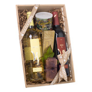 A Wine Enthusiast Duo Kosher Purim Gift Basket
