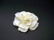 Bridal Ivory Silk Magnolia Wedding Floral Hair Accessory Pin-up Flower