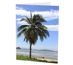 """Tropical Vacation"" Card"