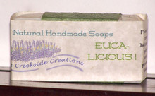 Pure and clean soap with refreshing eucalyptus essential oi and organic avocado oill!