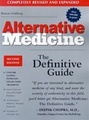 Alternative Medicine - The Definitive Guide
