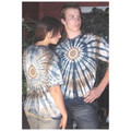 Indian Feathers 528 Tie Dyed Tshirt