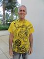 Mustard Yellow 528 Musical T-Shirt (100% Organic Cotton)