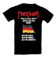 T-Shirt Kings Of Metal 2015 Tour/ Germany Ltd. Edition