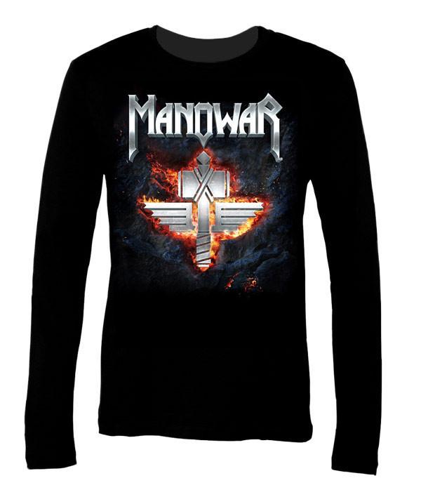 """Manowar """"Hell On Stage"""" T-Shirt - IndieMerchstore"""