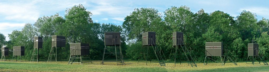 Texas Hunter Products Deer Blinds