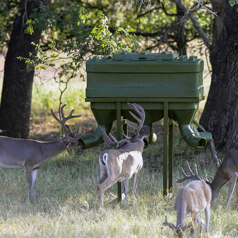 The benefits of protein feeders texas hunter products for Texas hunter fish feeder