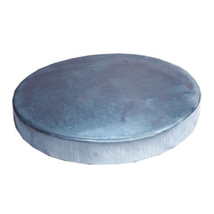 Texas Hunter Galvanized Lid for 55 Gallon Barrel Deer Feeders