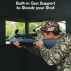 Texas Hunter Products Hunting Blinds feature Exceptional Visibility