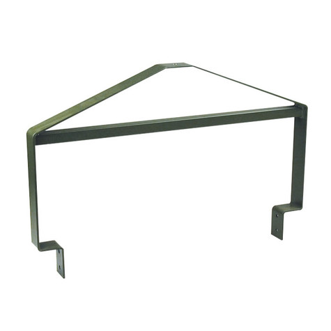 Texas Hunter Products Powder-Coated Steel Hanging Bracket for TF300 or 55 Gallon Barrel Deer Feeders.