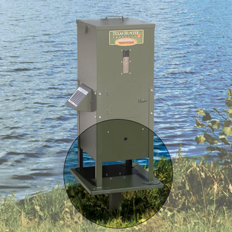 Texas Hunter Products Pedestal Mount for 70 lb. Directional Fish Feeders