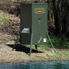 Texas Hunter 175 lb. Lake & Pond Fish Feeder with Adjustable Legs