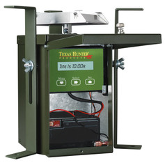 Texas Hunter Products 6 Volt Wildlife Game Feeder Kit with Battery