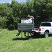 Texas Hunter's Xtreme Protein Feeders for Does and Fawns are Easy to Fill.