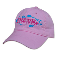 Texas Hunter Ladies Pink Vintage Cap with Fish Logo
