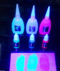 Invisible \ fluorescent ink glowing
