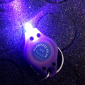 Mini UV torch keyring