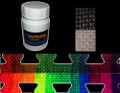 Thermochromic temperature colour changing neon acrylic paint
