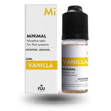Vanilla E-Liquid by MiNiMAL