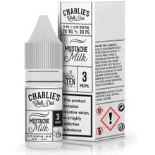 MUSTACHE MILK E-LIQUID BY Charlie's Chalk Dust