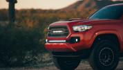 Rigid Industries 2016+ Toyota Tacoma Bumper Light Bar and Mount Kit