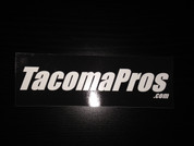 TACOMA PROS STICKER