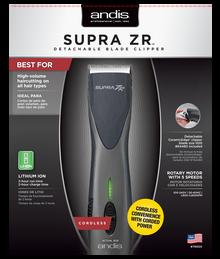 Andis Professional Supra ZR Detachable Blade Clipper