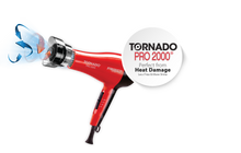 Red by kiss Tornado Pro 2000 with Attachments
