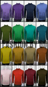 Mock Neck Sweaters - All Colors