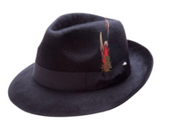 MONTIQUE MEN'S FUR FELT HAT COMES IN A VARIETY OF COLORS TO MATCH YOUR EVERY OUTFIT. Prices are exclusive to online sales.