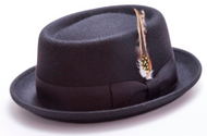 PORK PIE STINGY BRIM LITE FELT COMES IN A VARIETY OF COLORS. Prices are exclusive to online sales.