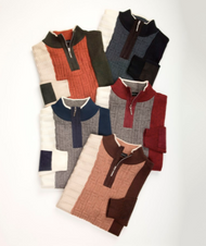 This sweater made by Montique comes in a variety of colors that will make any room quite once you step through the door. Prices are exclusive to online sales.