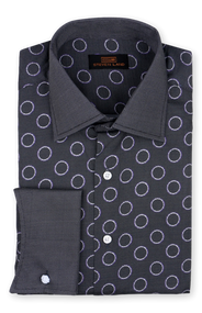 Dress it up or down this shirt can do it all, from its 100% cotton print to its convertible cuffs. Prices are exclusive to online sales.