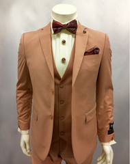 This three piece set comes in some fashionable colors and can be paired with a Stacy Adams Bow Tie. Prices are exclusive to online sales.