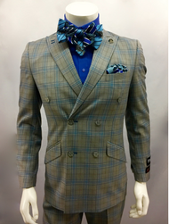This two piece set comes in some fashionable colors and can be paired with a Stacy Adams Bow Tie. Prices are exclusive to online sales.