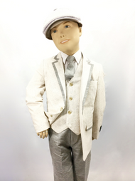 This kids suit by Jordano will make your child be the main attraction. Prices are exclusive to online sales.
