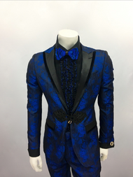 Thanks to GQ this suit will quiet a room as you walk in. From its chic floral design to its unique toggle this suit is never before seen. Prices are exclusive to online sales.