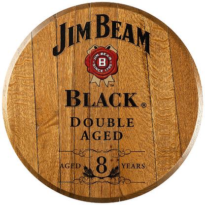 X Bourbon Barrel Head Black Jb 03