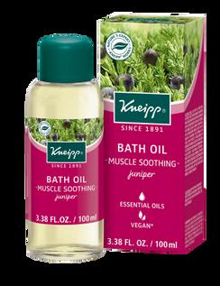 Muscle Soothing Bath Oil: Juniper