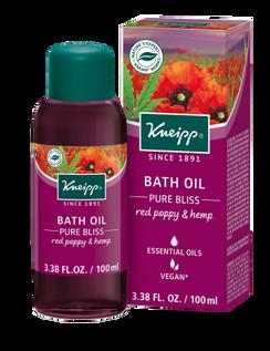 Pure Bliss Bath: Red Poppy & Hemp