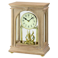 Ashleigh Crystal Mantel Clock