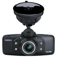 Uniden - DashCam with GPS, Full HD and 8GB SD Card