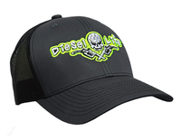 Diesel Life Snap Back Hat - Charcoal/Black/Neon Yellow