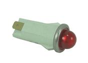 LIGHT 12VDC .02A LED RED PILOT  (G064009)